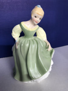 "Royal Doulton ""Fair Maiden"" Porcelain figurine"