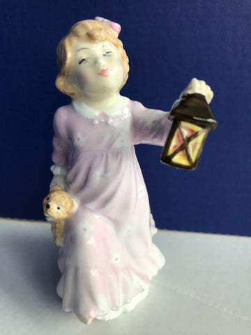 "Royal Doulton ""Time for Bed"" Porcelain figurine"