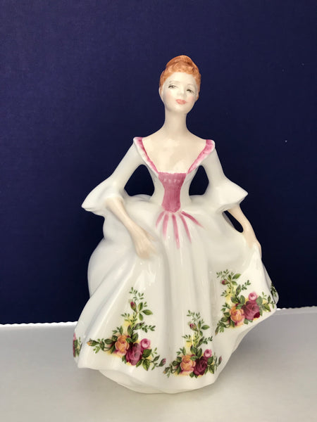 "Royal Doulton ""Country Rose"" Pocelain figurine"