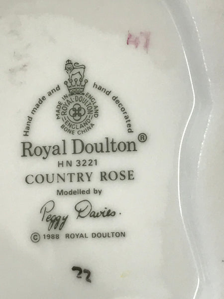 Country Rose - Royal Doulton Figurine