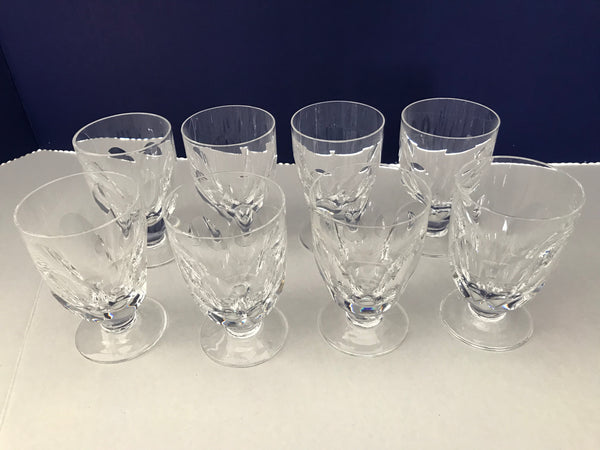 Waterford Crystal Juice Glasses-Sheila (cut)