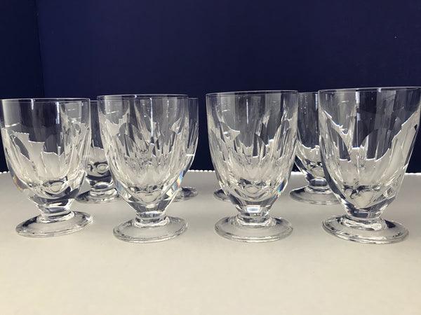 Waterford Crystal Juice Glasses -Sheila (cut)