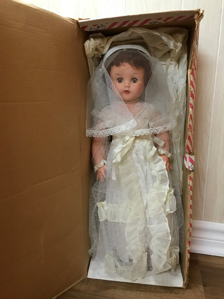 Vintage Wedding Doll from Dee an Cee Company