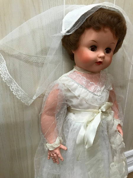 Vintage Wedding Doll from Dee an Cee Doll Company
