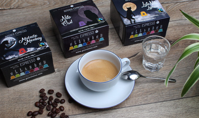 Gourmesso Coffee Capsules Compatible With Nespresso K Cup Machines