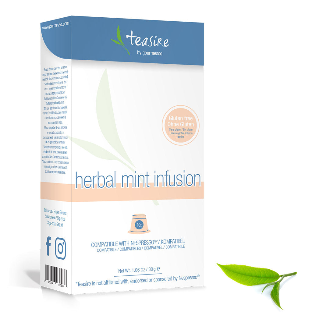 Herbal Mint Infusion - Mint Tea Capsules