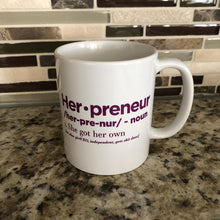 Load image into Gallery viewer, Herpreneur Purple Mug