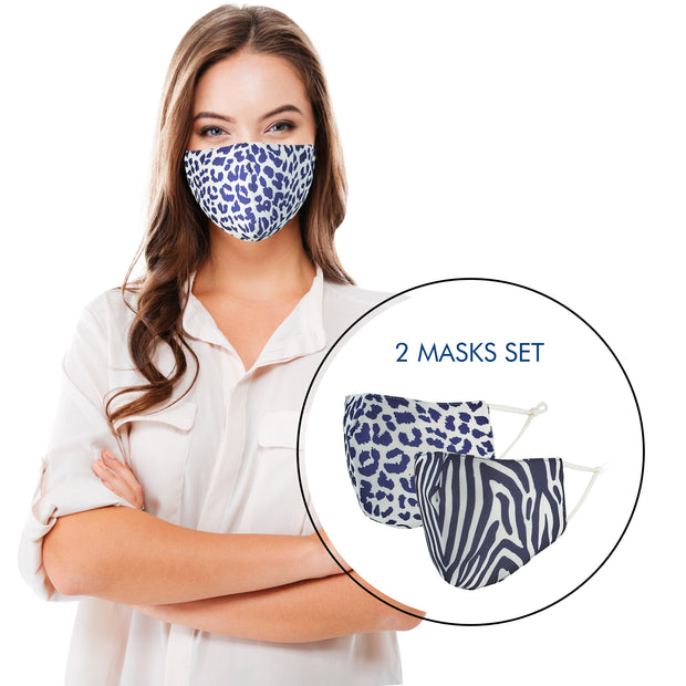 Women's Face Mask Reusable - Animal Print