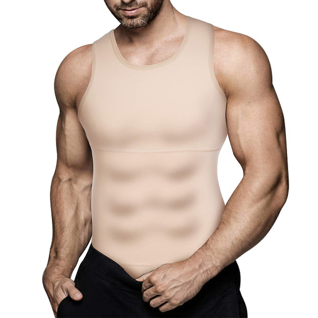 Men Compression Slimming Tank Top
