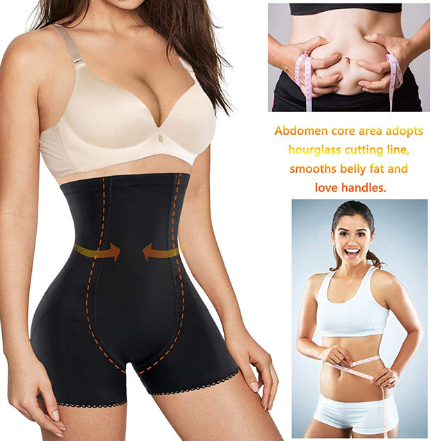 Women waist trainer body shaper hi-waist butt lifter tummy control smooth thigh slimmer