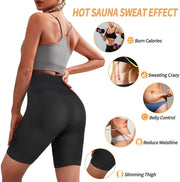 Junlan High Waist Heat Trap Sauna Sports Pants