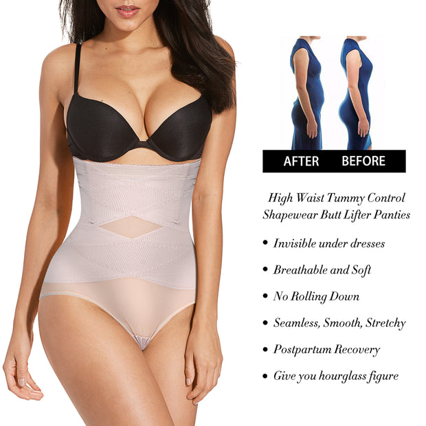 High-Waist Double Tummy Control Panty