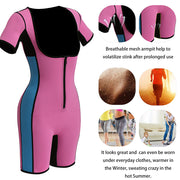 Women's Full Body Shaper Sport Sweat Neoprene Bodysuit