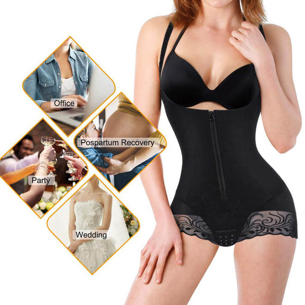 Full Body Breathable Double Slim Shapewear