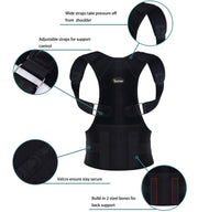Adjustable Shoulder Brace Posture Corrector