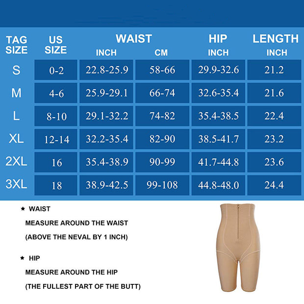 Women High Waist Butt Lifter Shorts Comfort Thigh Slimmer