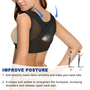 Chest up shapewear for women back posture corrector