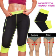 Weight Loss Hot Neoprene Sauna Sweat Pants with Side Pocket