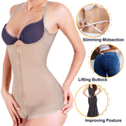 Latex Slim Zipper Shapewear