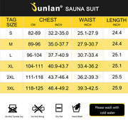 Junlan Women Hooded Sweat Hot Sauna Jacket Size Chart