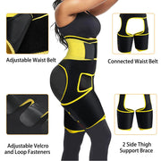 Junlan 3 in 1 Weight Loss Waist /Thigh/Hips Trimmer