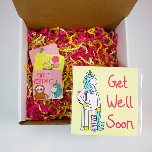 Build Your Own Get Well Soon Unicorn Care Package