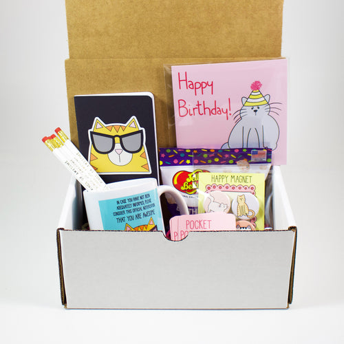 The Happy Birthday Cat Mug Care Package