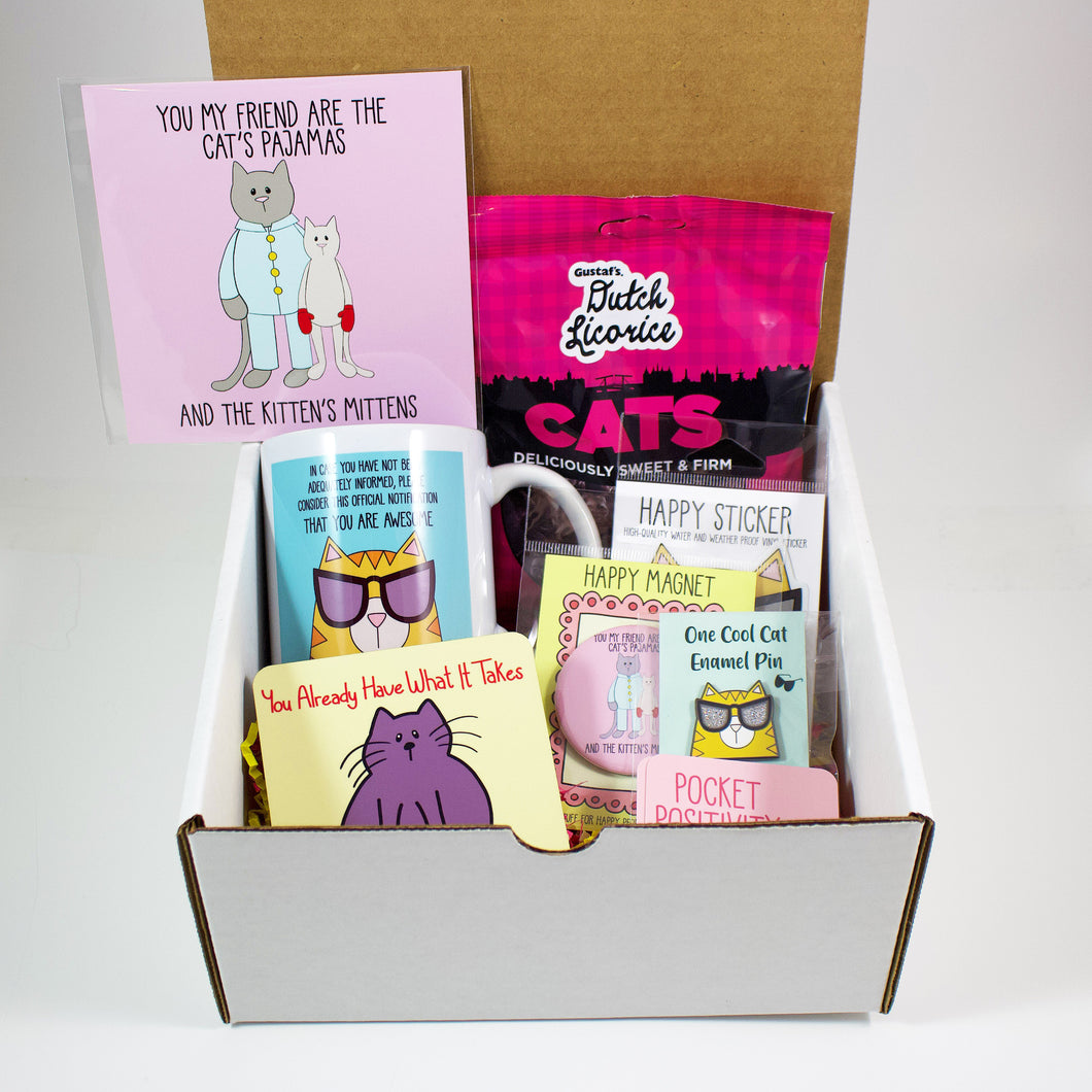 The Medium Cat Care Package