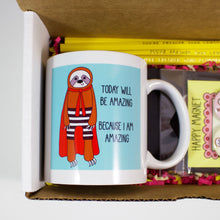 Load image into Gallery viewer, The Sloth Mug Care Package