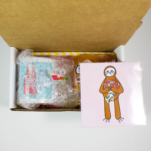 The Sloth Mug Care Package
