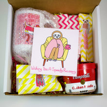 Load image into Gallery viewer, Sloth Speedy Recovery Get Well Soon Care Package