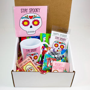 Stay Spooky Sugar Skull Halloween Care Package