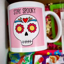 Load image into Gallery viewer, Stay Spooky Sugar Skull Halloween Care Package