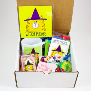 Witch Please Cat Halloween Care Package