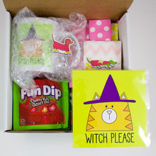 Load image into Gallery viewer, Witch Please Cat Halloween Care Package