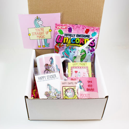 Build Your Own Unicorn Lovers Care Package
