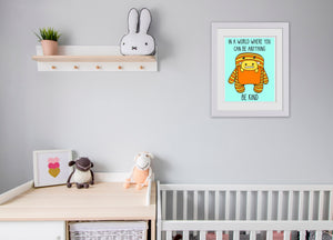 Daphne and Delilah Monsters Art Print