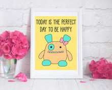 Load image into Gallery viewer, Penelope Monster Art Print