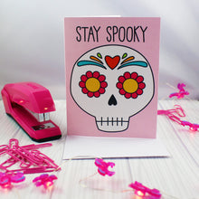 Load image into Gallery viewer, Stay Spooky Happy Halloween Blank Greeting Card