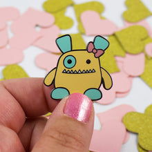 Load image into Gallery viewer, Penelope Monster Hard Enamel Pin