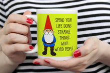 Load image into Gallery viewer, Happy Garden Gnome Ceramic 11oz Mug