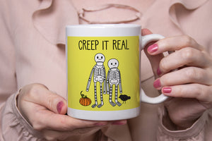 Creep It Real Skeletons Ceramic 11oz Mug