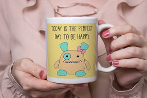 Cute Penelope Monster Ceramic 11oz Mug