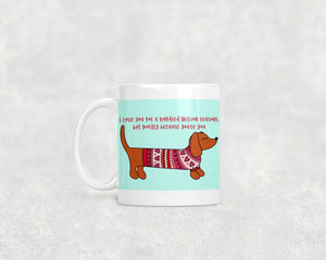 Love Doxie Ceramic 11oz Mug