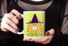 Load image into Gallery viewer, Witch Please Cat Ceramic 11oz Mug