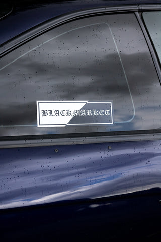 BLACKMARKET GOTHIC SLAP DECAL