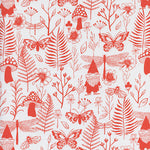 Cotton & Steel - Front Yard - Garden - Red