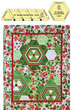 Hexagon Log Cabin Template Set - Marti Michell