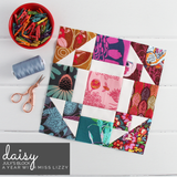 PATTERN: Miss Lizzy: Mixed Block Traditional Sampler