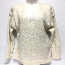 Load image into Gallery viewer, Free People Cream Sweater Sz M